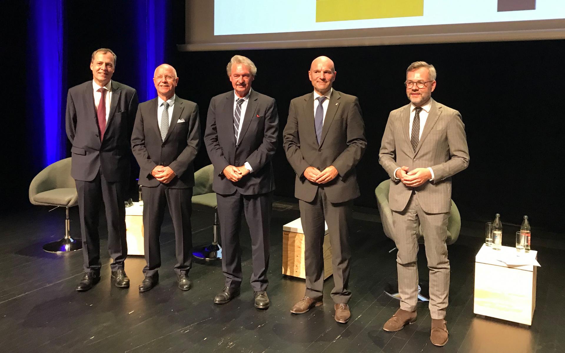Adenauer-De Gaull-Preis 2020 an DRF Luftrettung und Luxemburg Air Rescue.
