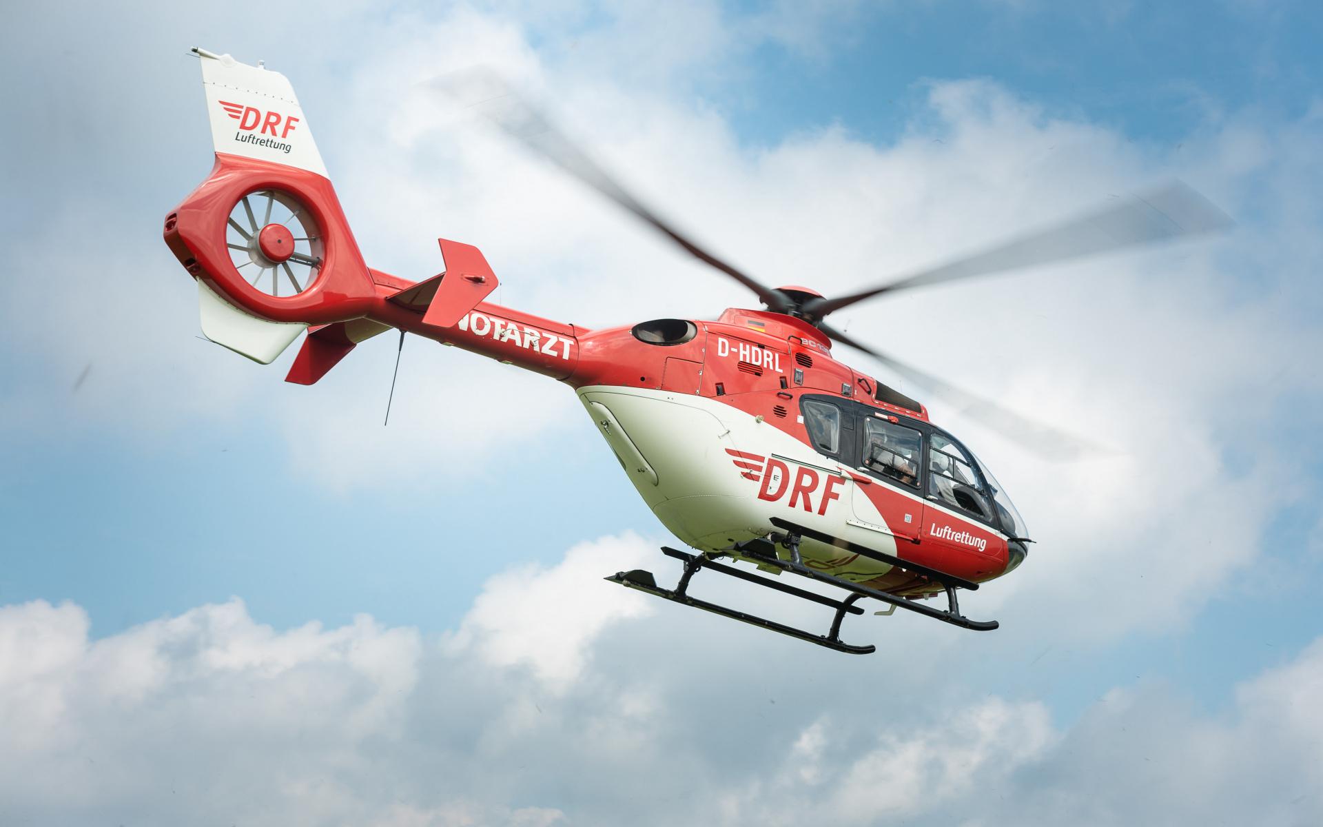 Bringt unter dem Funkrufnamen Christoph 60 im Notfall schnelle Hilfe: eine EC 135.