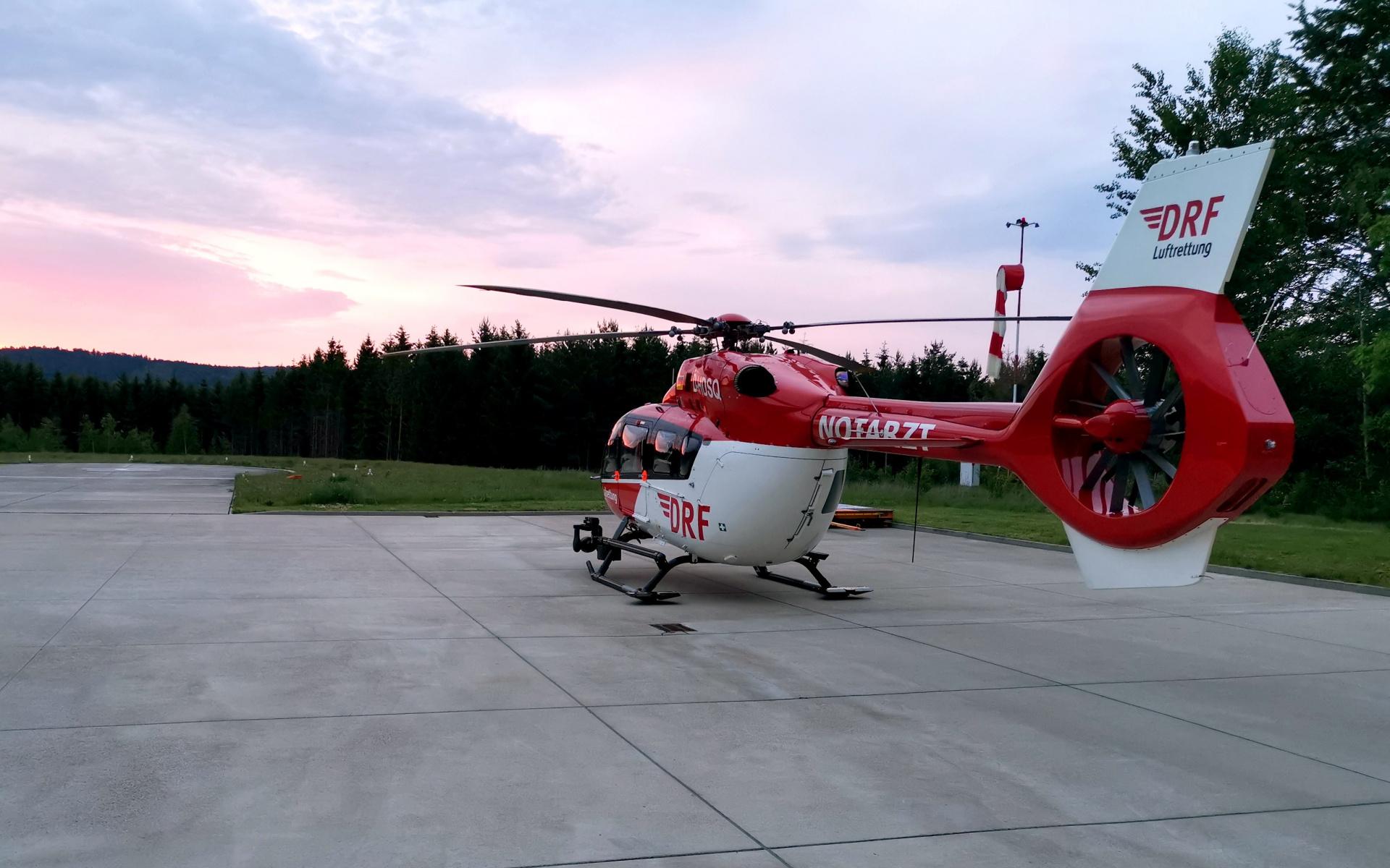 Die fliegende Intensivstation ist für Einsätze in der Nacht in besonderer Weise geeignet.