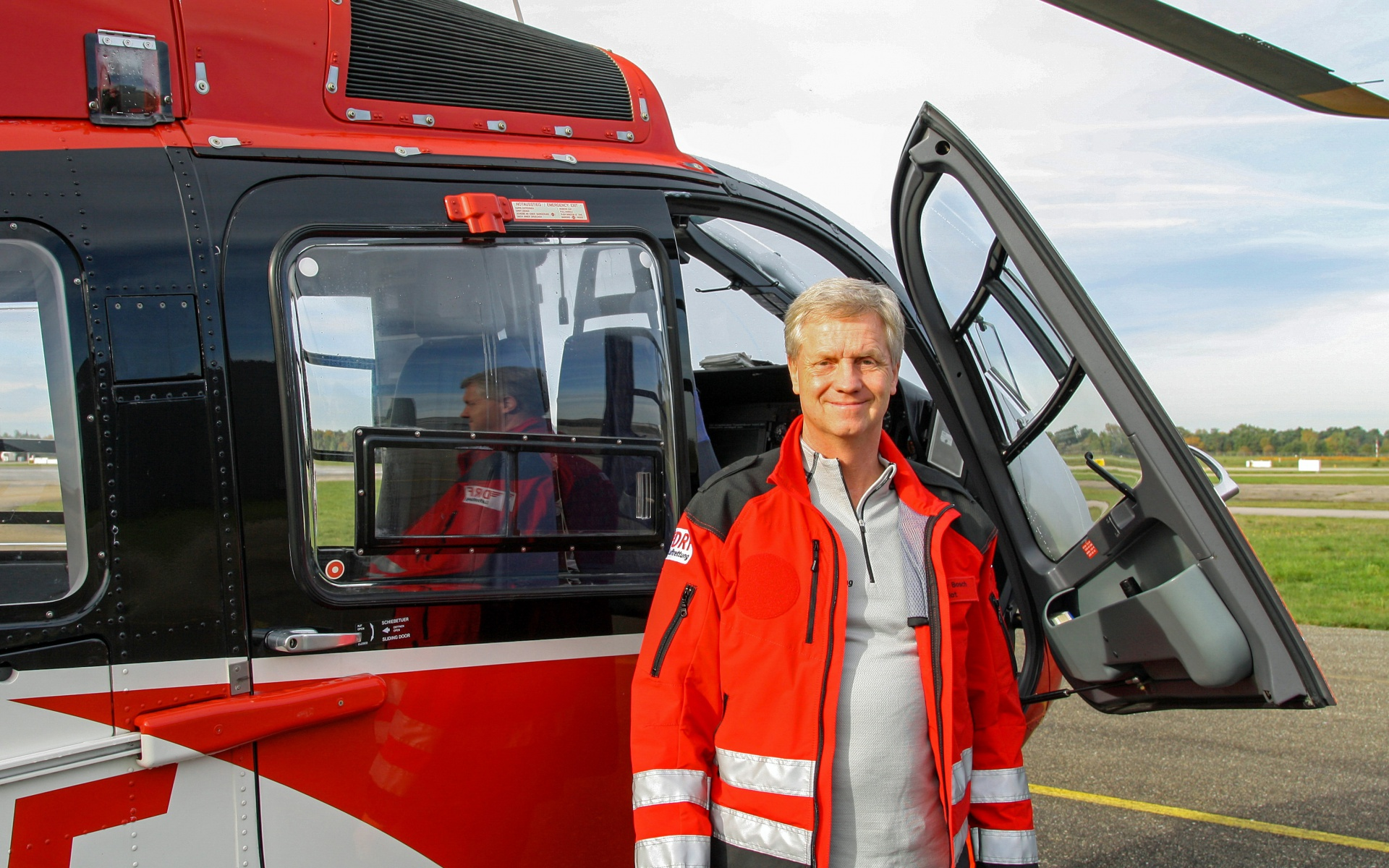 "Rüdiger Bosch, Leiter der ATO, ""Approved Training Organisation""."