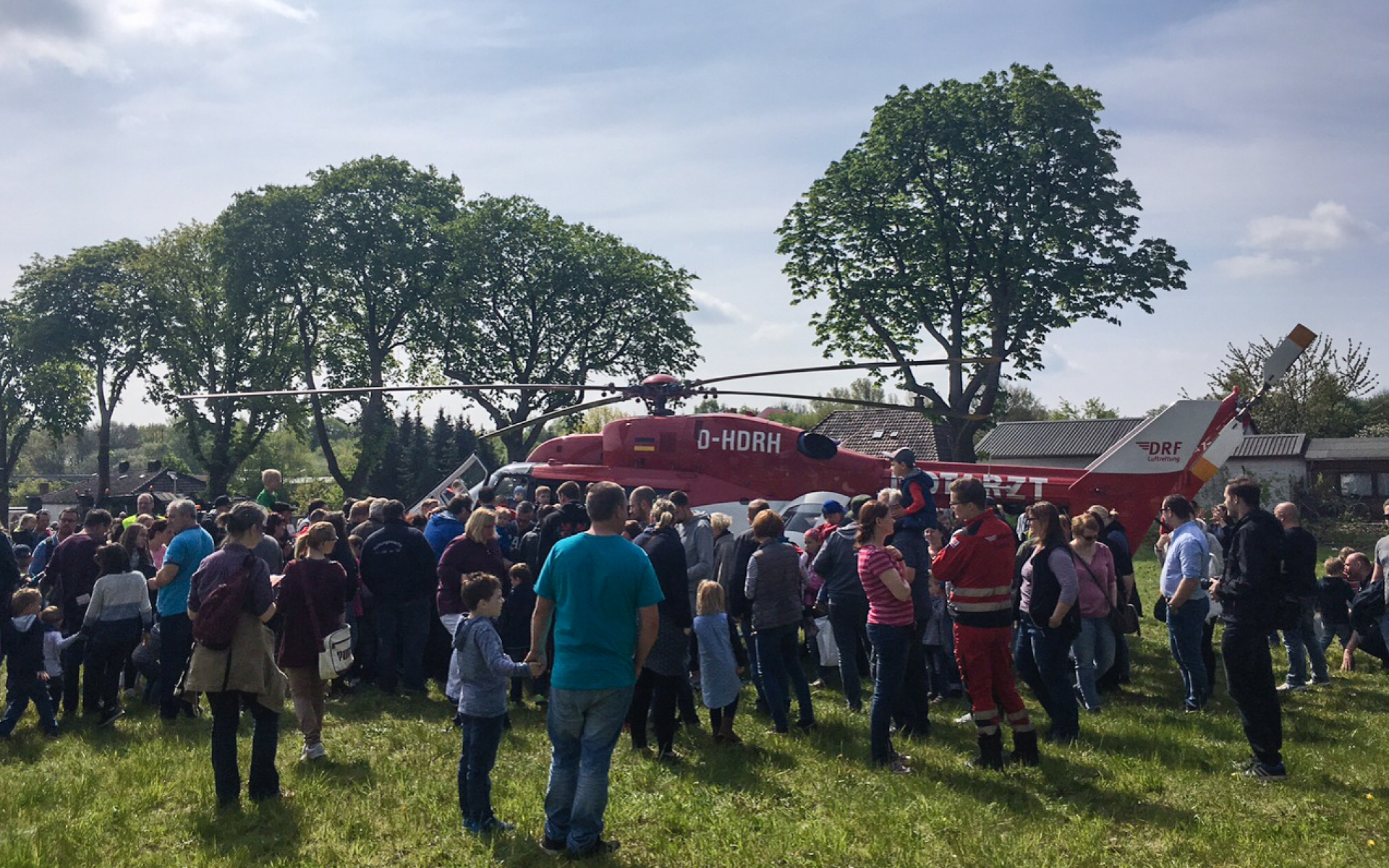 Großer Andrang: Viele Besucher interessierten sich für Christoph Weser.