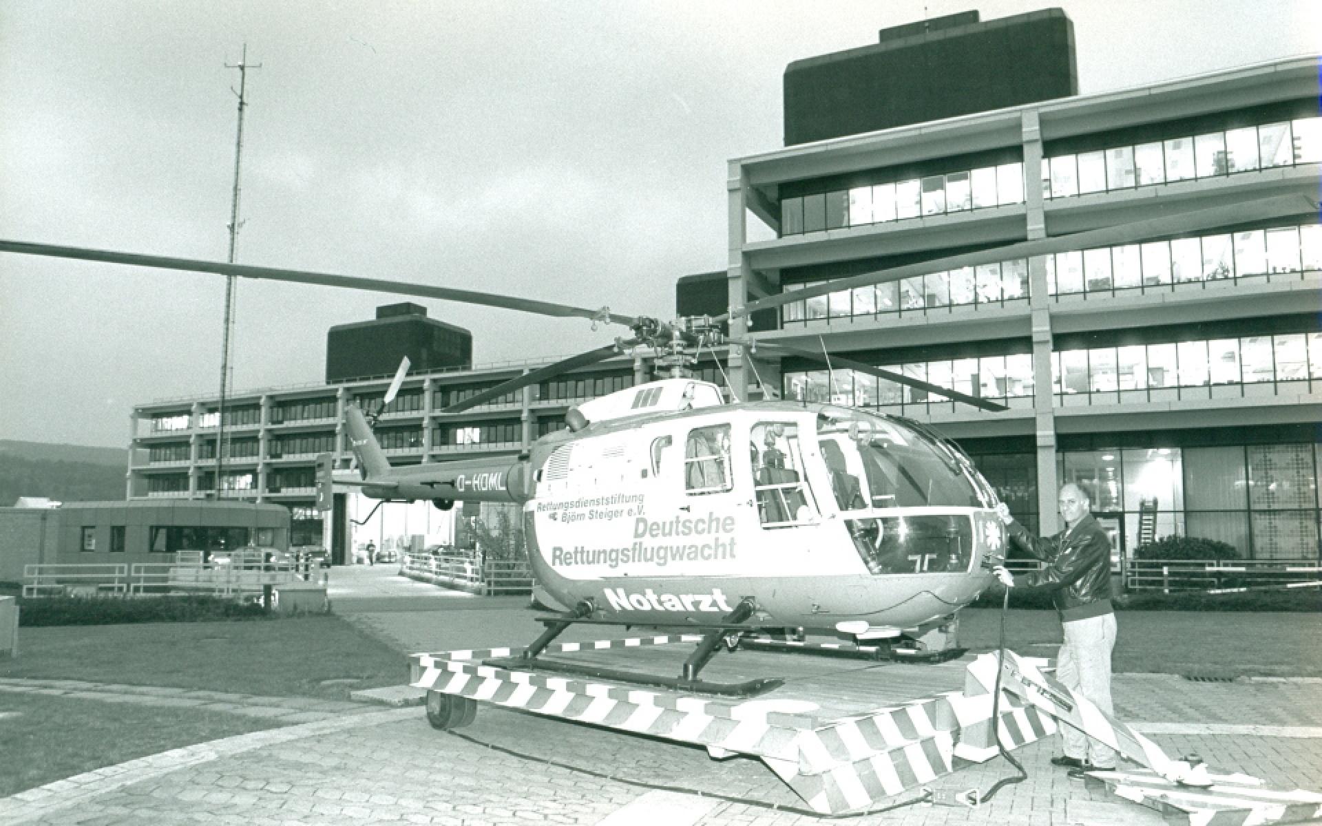 Bei der Feierstunde wurde auch an den inzwischen verstorbenen Jürgen Richter erinnert, der als Stationsleiter und Pilot maßgeblich am damaligen Aufbau beteiligt war.