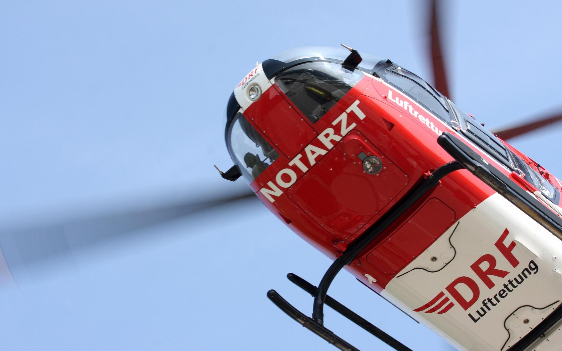 In Lebensgefahr schwebte ein Quadfahrer, nachdem er sich mit seinem Fahrzeug überschlagen hatte. Christoph 37, der Nordhäuser Hubschrauber der DRF Luftrettung, war schnell zur Stelle. Symbolbild.