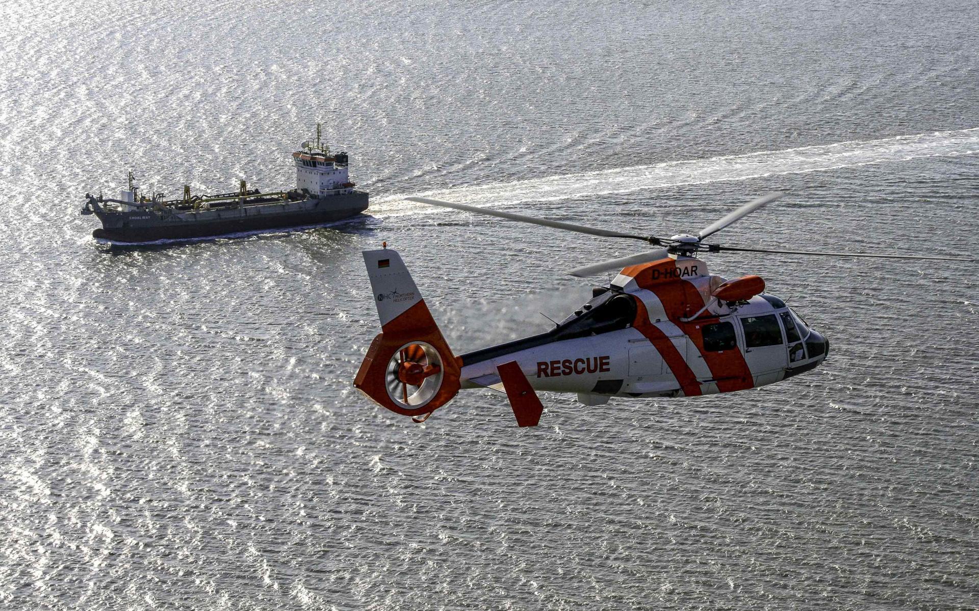 Eine starke Gemeinschaft im Einsatz für eine optimale medizinische Versorgung im Bereich der Nord- und Ostsee: DRF Luftrettung und Northern HeliCopter.