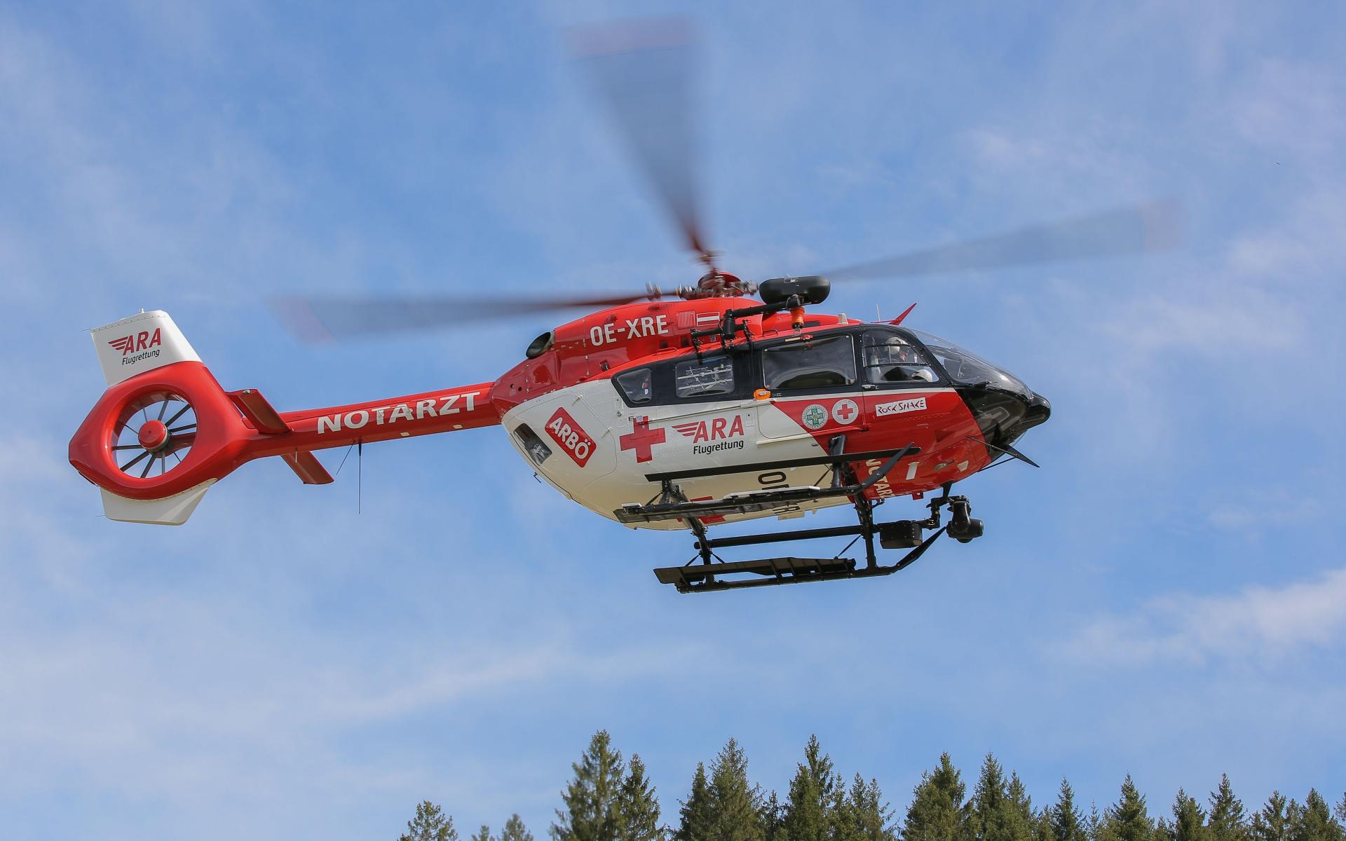 Die neue H 145 ist seit Anfang April im Einsatz.