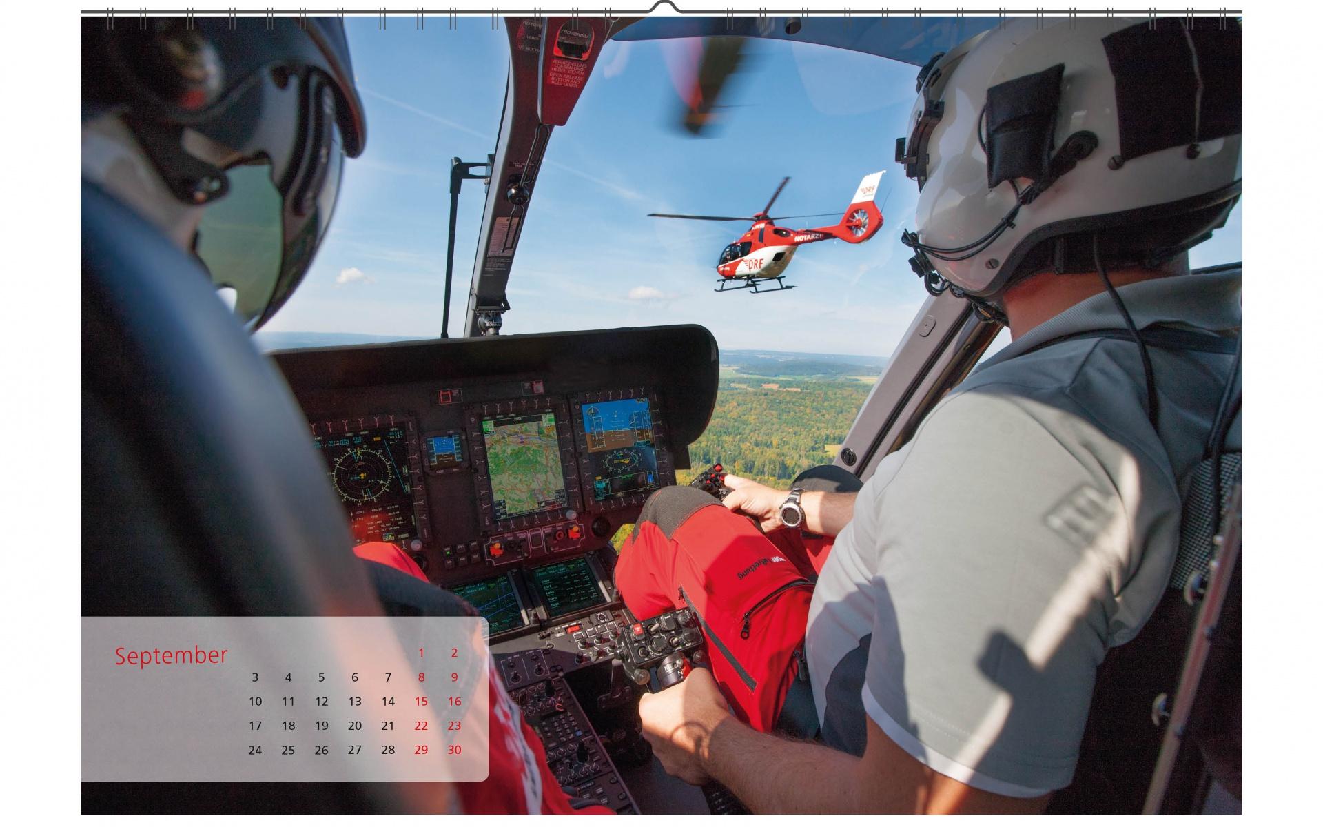 Willkommen in der Flotte: 2018 werden die ersten Hubschrauber des Typs H 135 bei der DRF Luftrettung in Dienst gestellt.