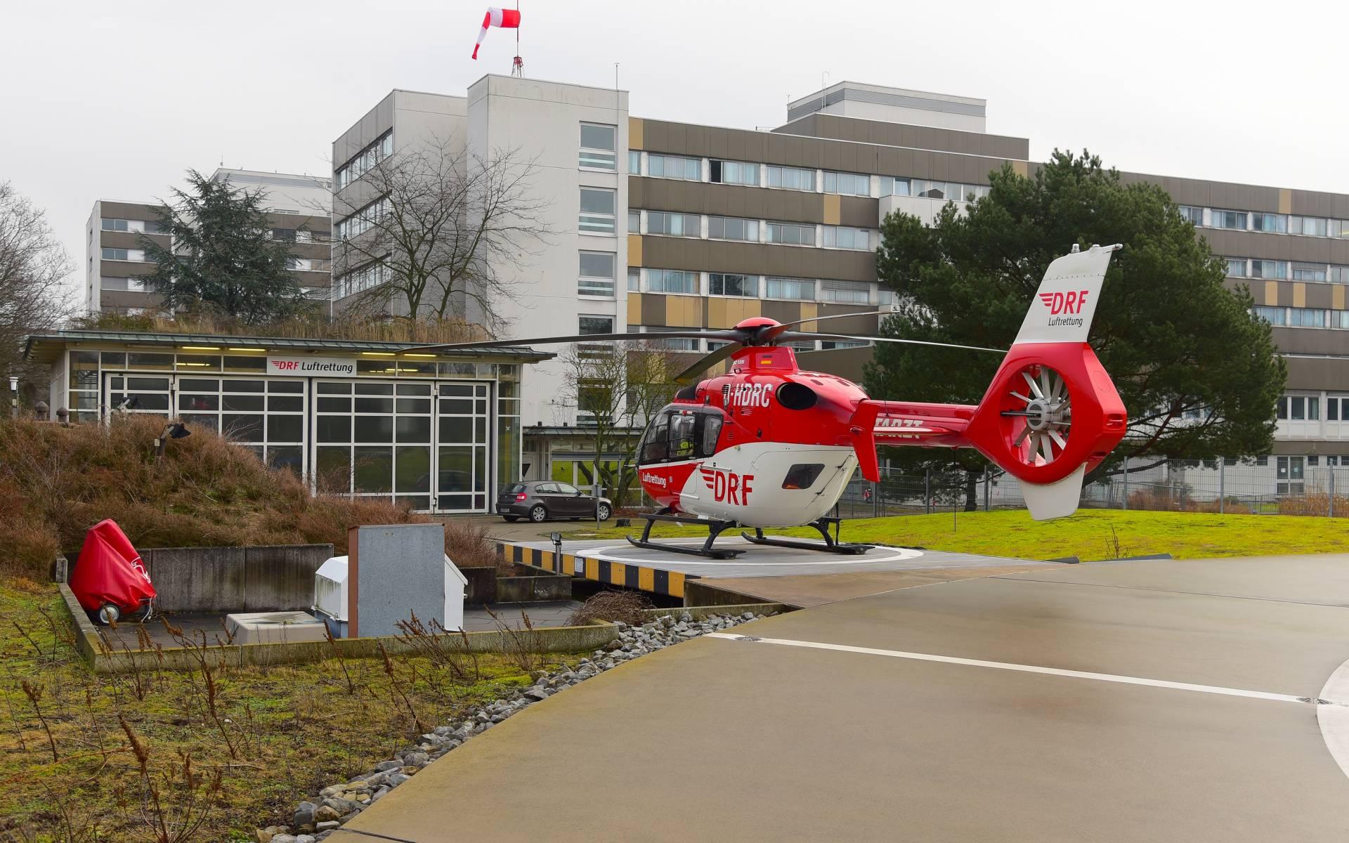 Über 47.500-mal wurde Christoph 43 von dort aus zu lebensrettenden Einsätzen alarmiert. Foto: Ole Meisen