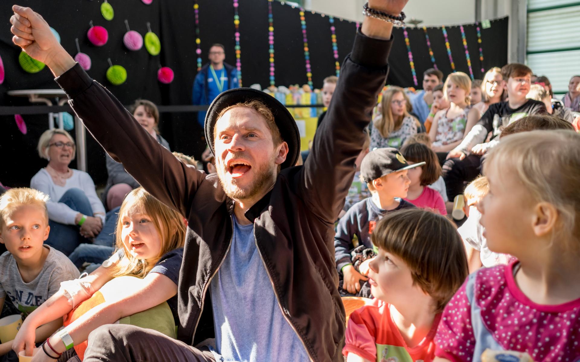 Erfolgsgeschichte: 2011 fand das erste Kinderklinik-Konzert in Dresden statt. Foto: Andreas Lander