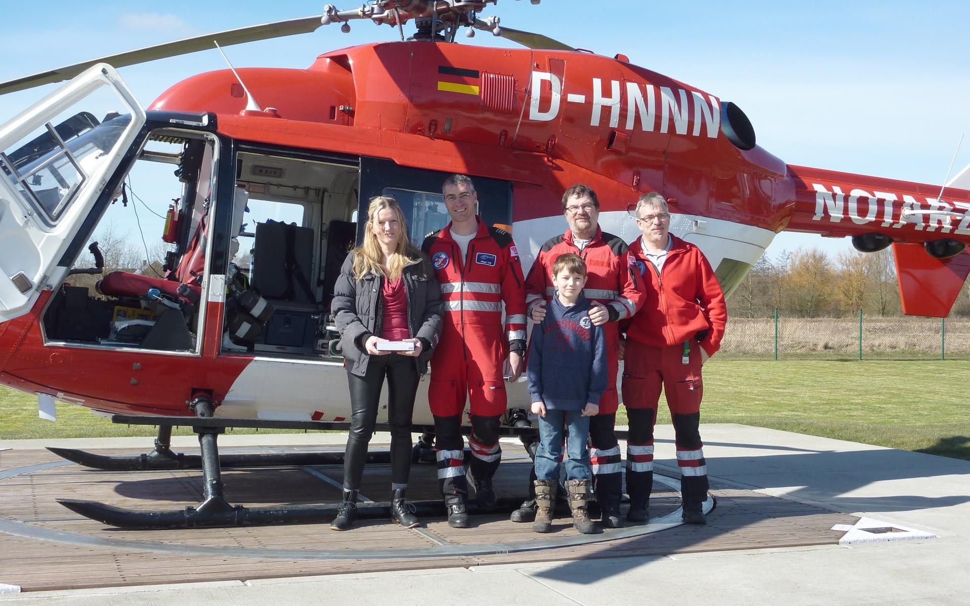 Der Niebüller Rettungshubschrauber ist ein wichtiges Puzzlestück für die notfallmedizinische Versorgung der Region.