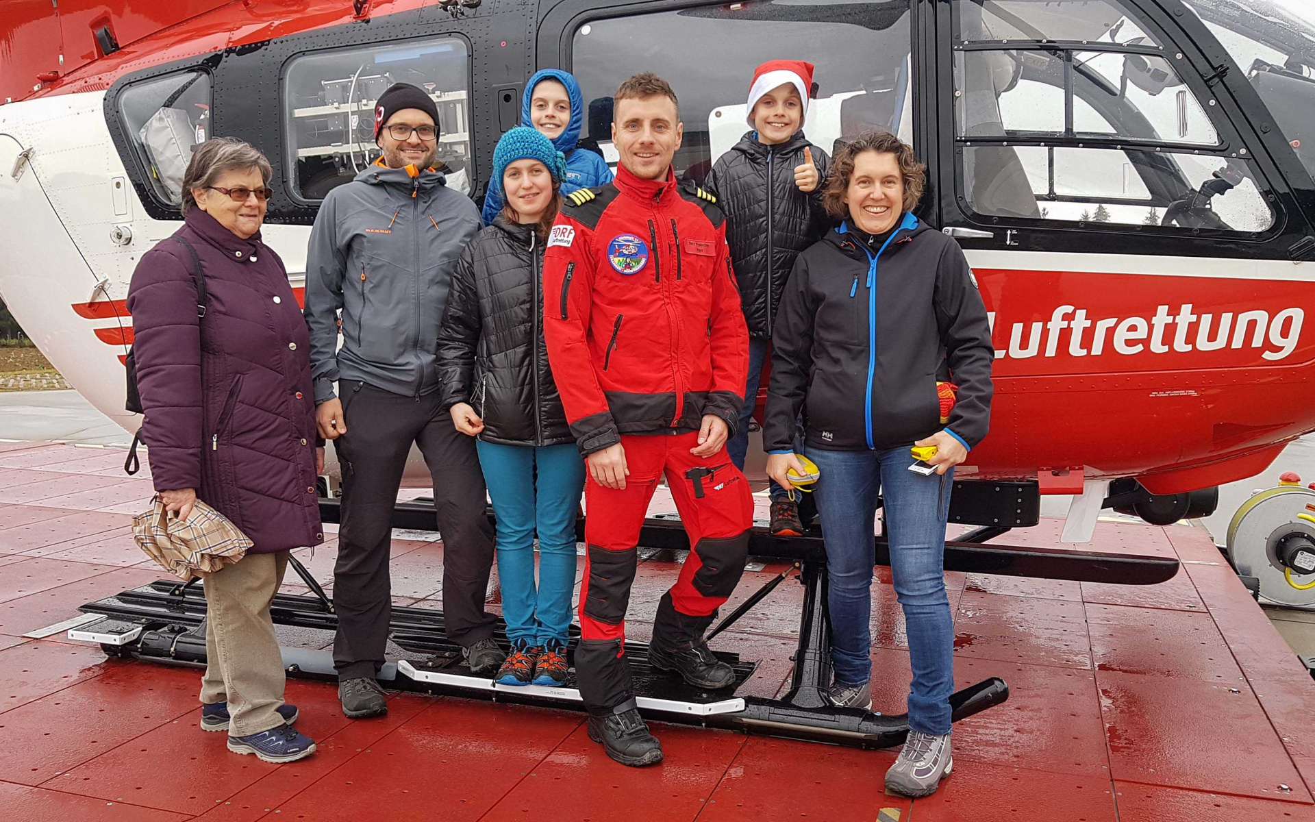 Besuch bei Christoph 11 der DRF Luftrettung.