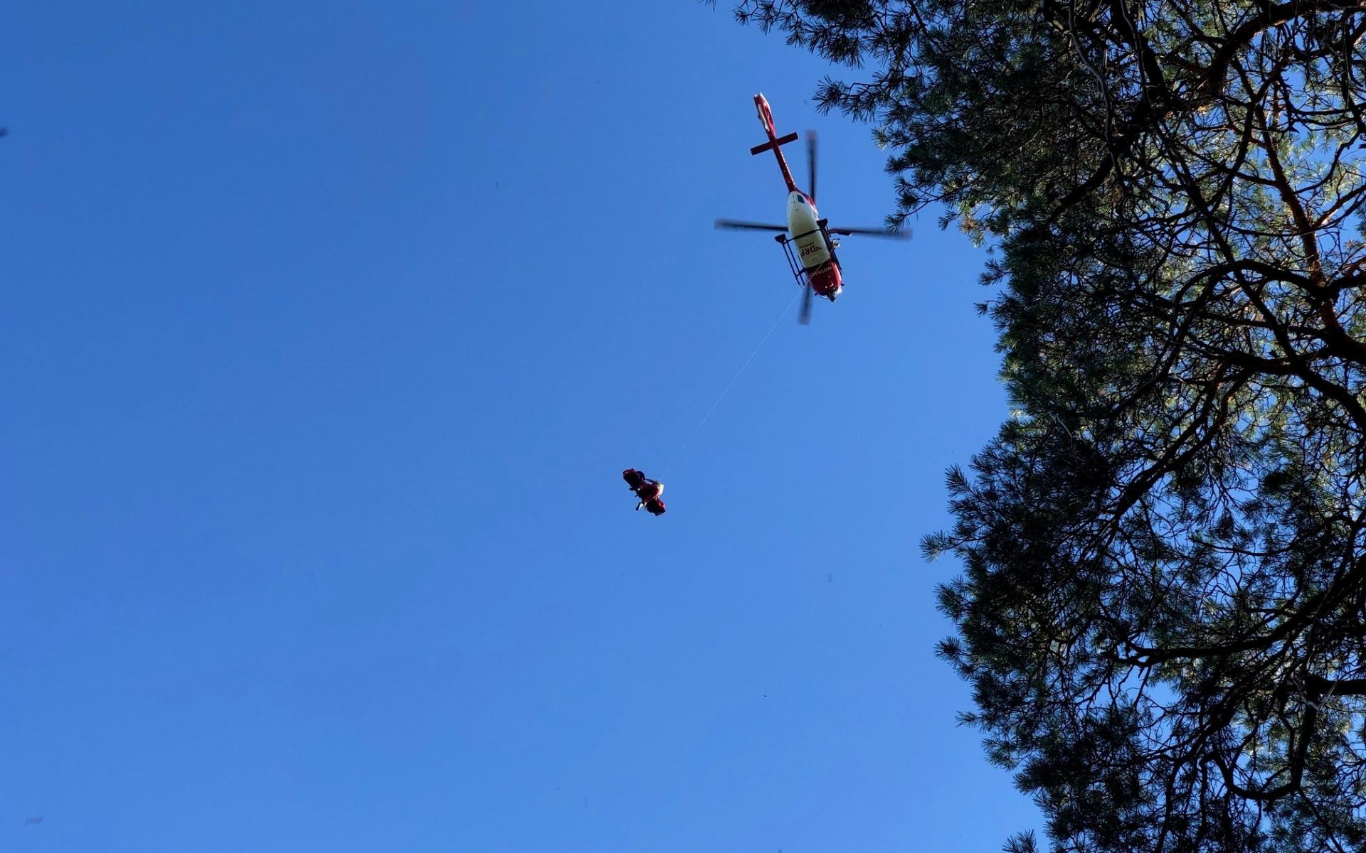 Schnelle Hilfe aus der Luft, immer und überall, auch in unzugänglichem Gelände