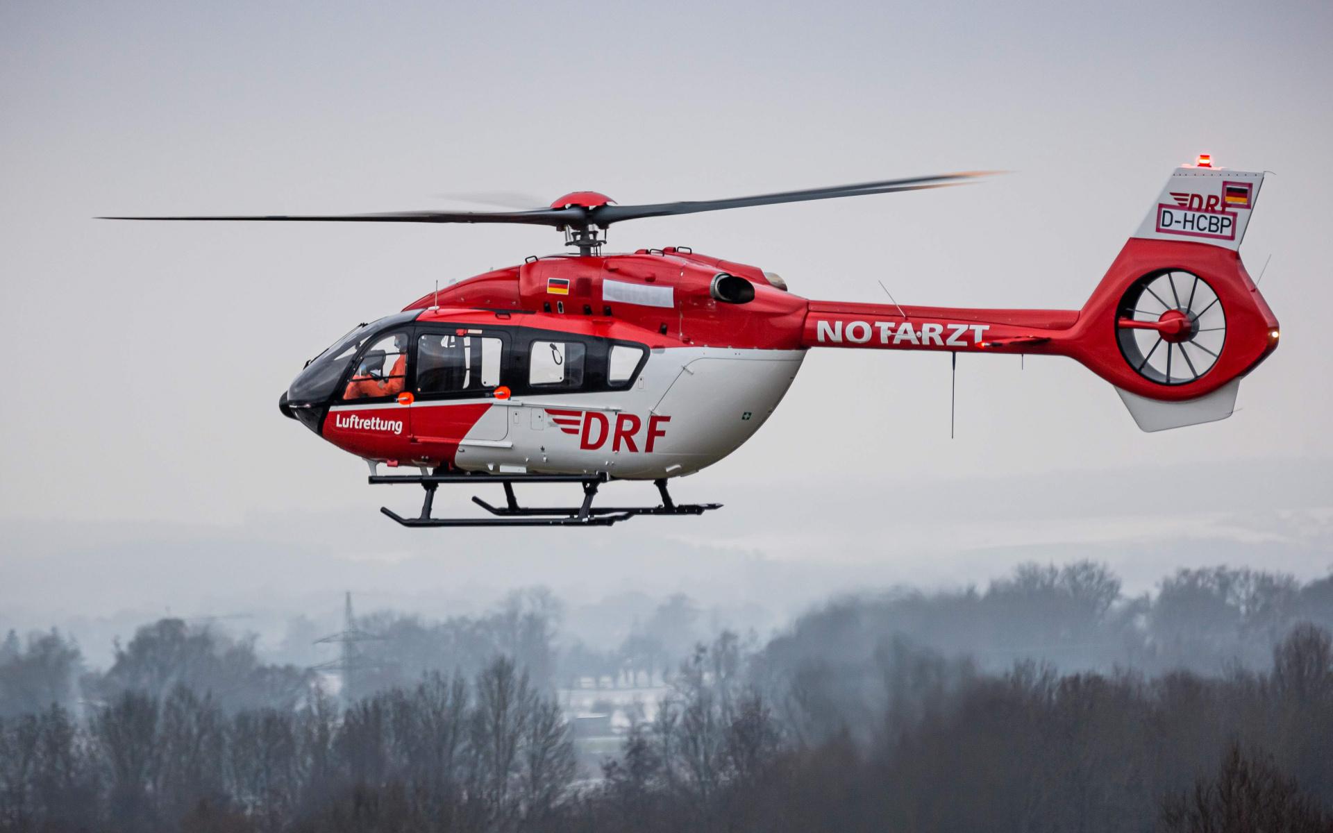 ... auf einen Flug über rund 200 Kilometer in unsere Werft am Operation Center. (Quelle: Airbus Helicopters)
