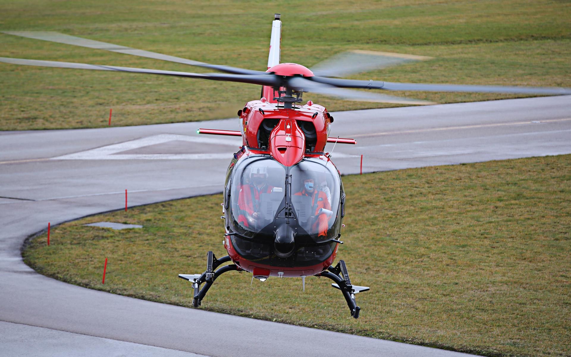 Von dort startete die Maschine im Anschluss erstmals in den Himmel ... (Quelle: Airbus Helicopters)