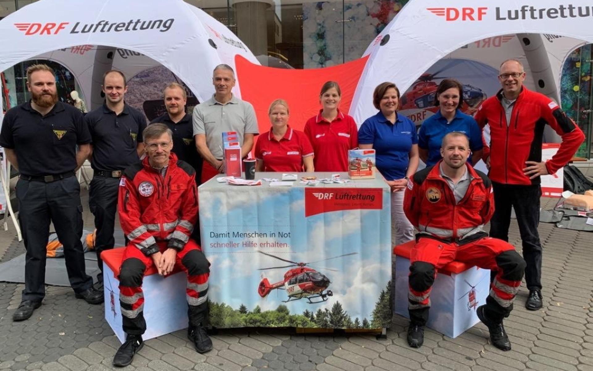 Von 9 Uhr bis 16.30 Uhr standen professionelle Rettungskräfte für die Fragen aller Interessierten bereit.