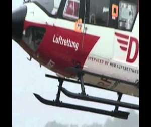Embedded thumbnail for DRF Luftrettung Video Intensivtransporte Station Halle 24 h
