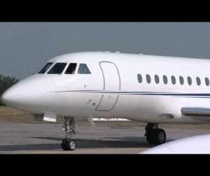 Embedded thumbnail for Lear Jet Vorflugkontrolle
