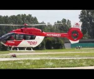 Embedded thumbnail for DRF Luftrettung H 145 Checkflug Airbus Helicopters