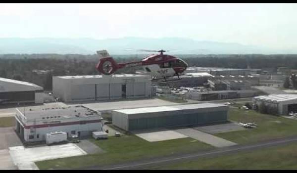 Embedded thumbnail for Erste Landung der H 145 am Operation-Center der DRF Luftrettung
