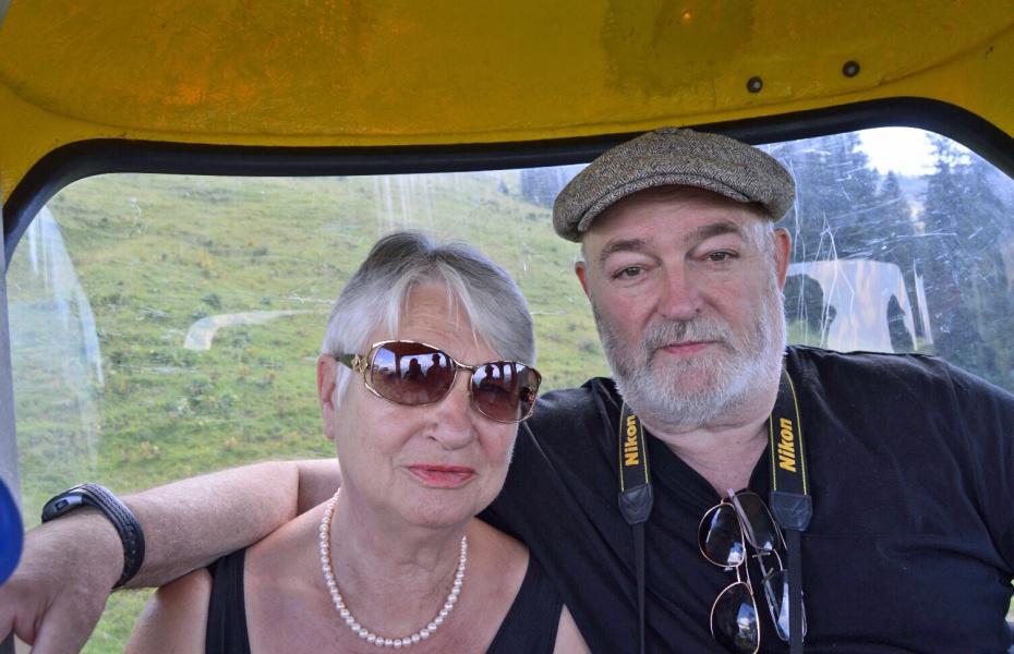 Einmal in der Woche schließen Harald Spayda und seine Frau Franziska ihre Praxis und verbringen die Zeit bewusst zu zweit.