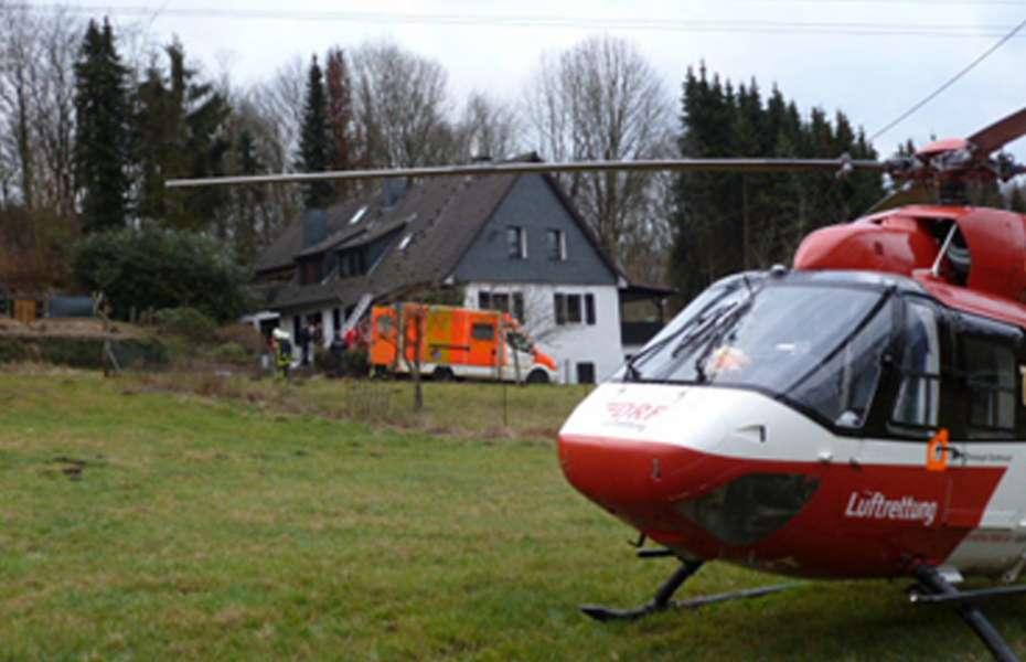 Christoph Dortmund transportierte den Verletzten in ein Krankenhaus