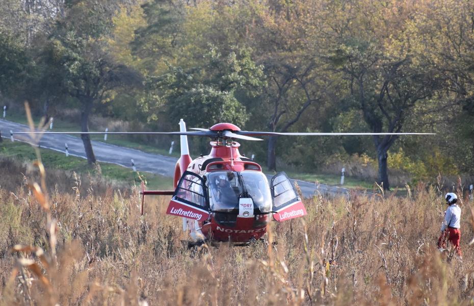 Bereits 1.500 Mal sind die Luftretter aus Angermünde dieses Jahr gestartet, um Menschen in medizinischen Notsituationen zu helfen (Symbolbild).