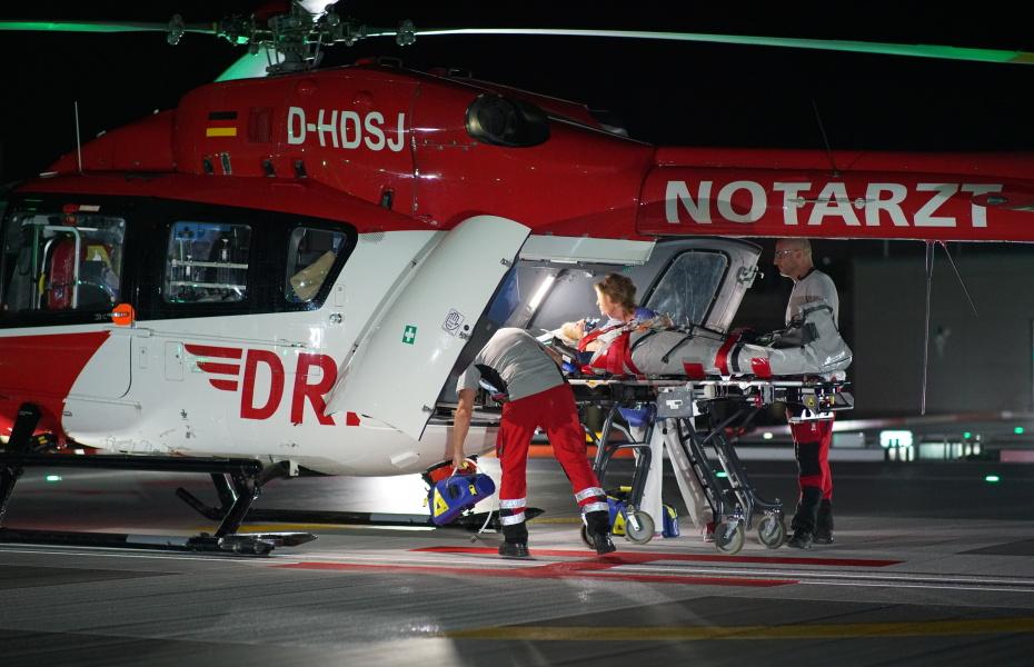 Seit Mai 2015 kommt in Regensburg der bisher modernste Hubschrauber der Luftrettung zum Einsatz, eine H 145 (Symbolbild).