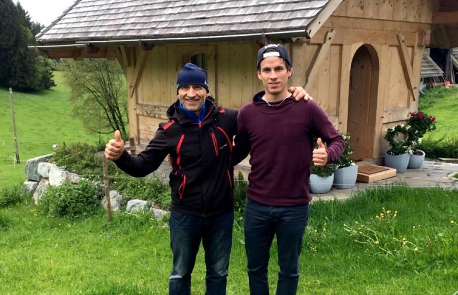 Beinahe verloren Konrad und Thomas Hermann ihr Leben in einem Gülleschacht. Heute sind sie dankbar für ihre schnelle Rettung.