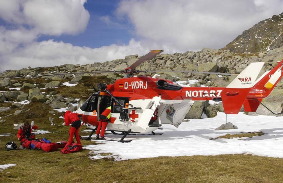 RK-1 versorgte den Überlebenden