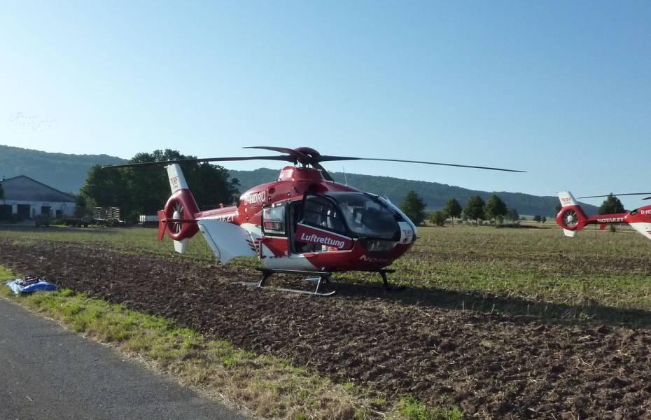 Insgesamt waren 420 Rettungskräfte vor Ort.