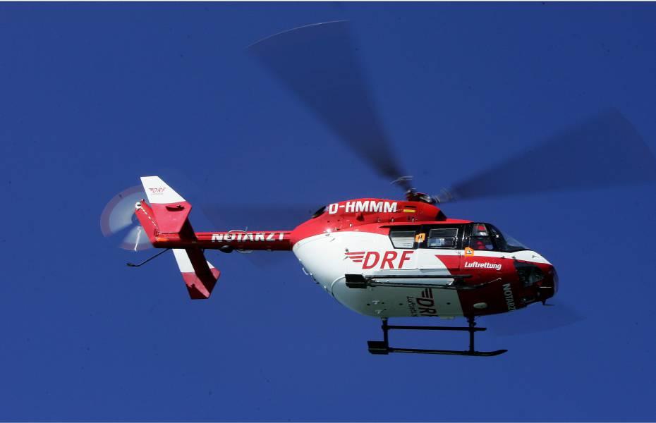 Die Besatzung von Christoph Dortmund versorgte eine Patientin und flog sie schnellstmöglich und schonend in eine Klinik. Symbolbild.