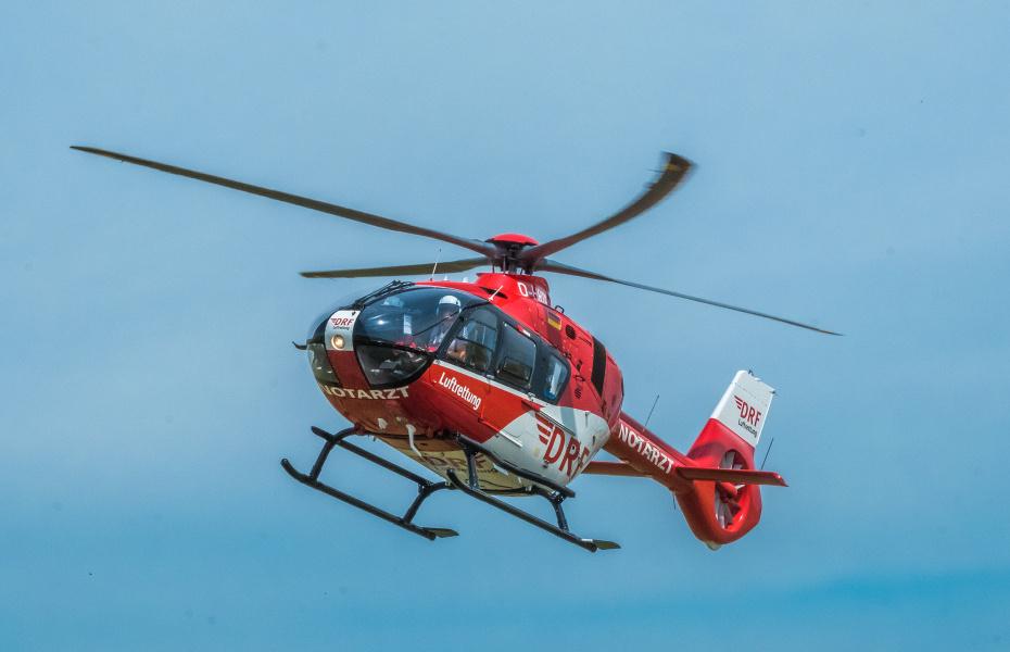 Seit 1991 im Einsatz, um schwer kranken und verletzten Menschen schnelle notärztliche Hilfe zu bringen: Christoph 46. Symbolbild.