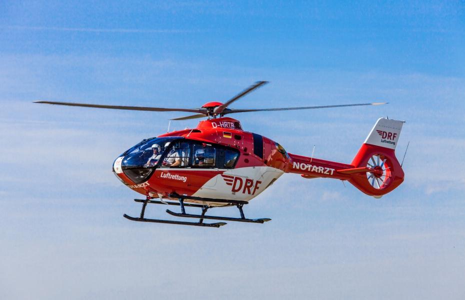 In Friedrichshafen kommt künftig eine H 135 zum Einsatz.