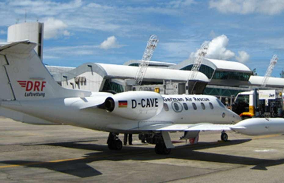 Der DRF-Ambulanzjet