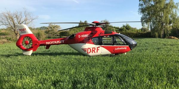 Er wird gebraucht in der Region: Kürzlich leistete Christoph 64 der DRF Luftrettung bereits seinen 5.000. Einsatz.