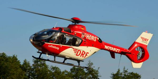 Täglich startet Christoph 64, der Angermünder Rettungshubschrauber der DRF Luftrettung, zu Einsätzen, um Menschen in Not zu helfen.
