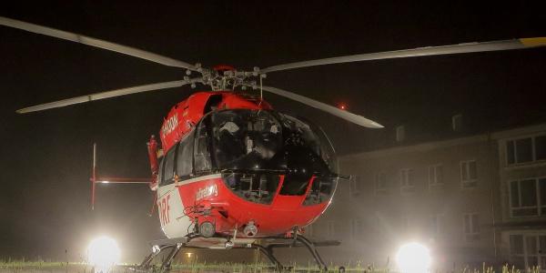 Schnelle Hilfe aus der Luft für einen kleinen Jungen, der sich verbrüht hatte: Die Luftretter aus Bad Berka holen den jungen Patienten in Plauen ab und fliegen ihn schnellstmöglich und schonend in das Schwerverbranntenzentrum in Leipzig. Symbolbild.