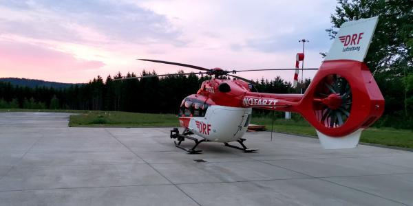 Seit Anfang Juni 2019 fliegt die Besatzung in Bad Berka mit einer hochmodernen H 145 zu ihren Einsätzen. Symbolbild.