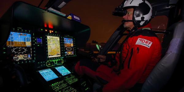 Die Fluglehrer der DRF Luftrettung werden die Piloten auf dem von LAT erworbenen, ersten eigenen Kombi-Hubschrauber-Simulator ausbilden.