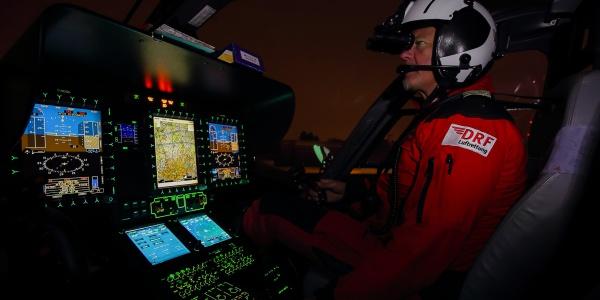 Der Hubschraubertyp H145, der auch an der Regensburger Station der DRF Luftrettung zum Einsatz kommt, ist für nächtliche Rettungsflüge besonders geeignet. (Symbolbild)
