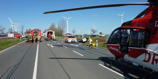 Gleich acht Einsätze leistete die Magdeburger Besatzung der DRF Luftrettung am 1. April. Vor allem Herzprobleme und Verkehrsunfälle waren die Alarmierungsgründe für den Rettungshubschrauber.