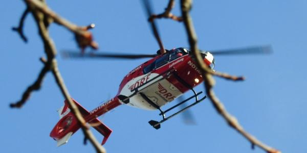 Der Rettungshubschrauber der DRF Luftrettung von der Station Bad Saarow erreicht den Schlaganfallpatienten innerhalb weniger Minuten. (Symbolbild. Foto: Daniel Stibitz)