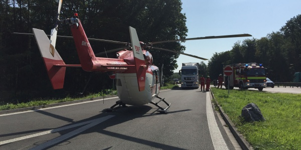 LKW-Fahrer blockiert Rastplatz für Christoph Dortmund