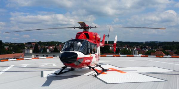Transportiert kritisch kranke oder verletzte Patienten sehr schnell und schonend zwischen Kliniken: Christoph Dortmund. Symbolbild.