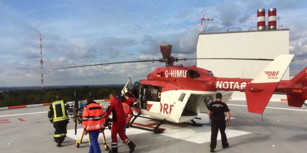 Christoph Dortmund ist wie eine fliegende Intensivstation und damit optimal für den Transport eines Babys ausgerüstet.