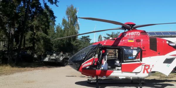 Der Magdeburger Rettungshubschrauber wird vor allem zu internistischen und chirurgischen Notfällen angefordert.