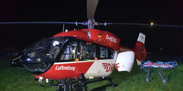 Das Nachtflugkonzept der DRF Luftrettung umfasst für den Flug bei Dunkelheit unter anderem den Einsatz von zwei Piloten mit Instrumentenflugberechtigung.