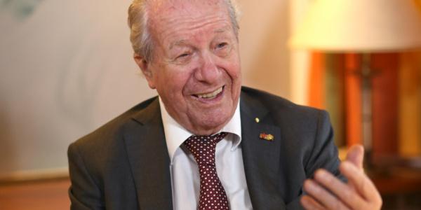 Portraitaufnahme von Dr. Siegfried Steiger (Foto: Björn Steiger Stiftung)