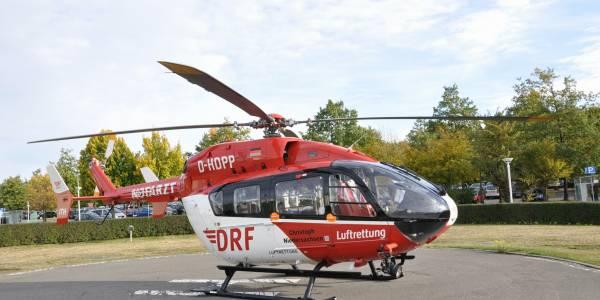 Seit 20 Jahren startet Christoph Niedersachsen von Hannover aus zu lebensrettenden Einsätzen. Von Anfang an mit dabei: Rettungsassistentin Christine Berghausen, die nun ihren letzten Einsatz hatte.