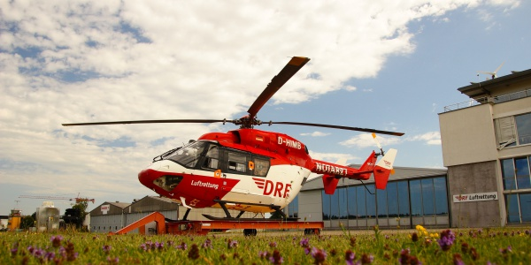 Wenn es um Minuten geht, transportiert die Besatzung von Christoph 54 Patienten sehr schnell und schonend in eine Spezialkliniken. Symbolfoto.