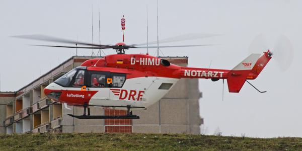 Als Christoph Dortmund immer wieder bei schweren Unfällen im Einsatz: Christoph Dortmund.